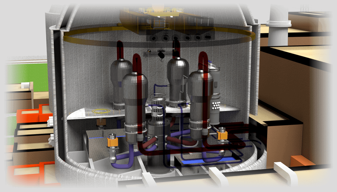 nuclear reactor - layout