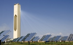 PS10 Solar Power Plant in Spain. Source: wikipedia.org License: CC BY 2.0